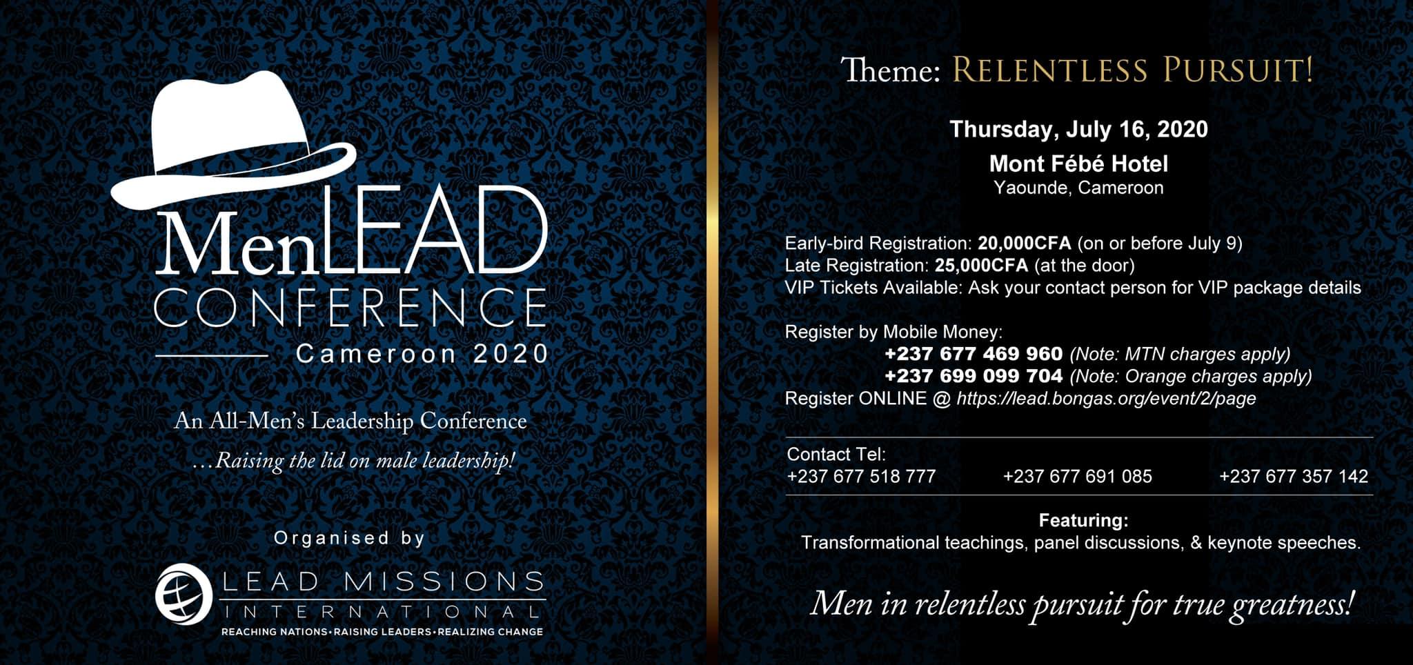 MenLEAD Conference 2020