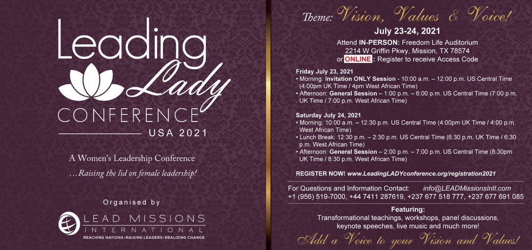 Leading LADY Conference 2021