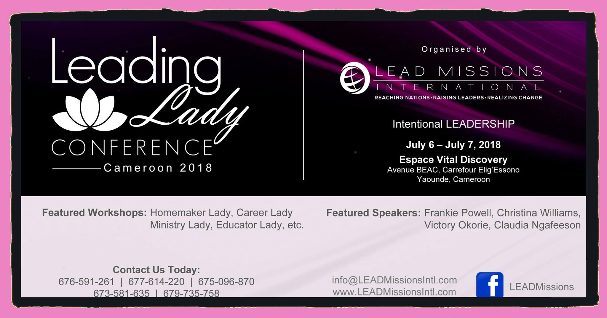 Leading LADY Conference 2018