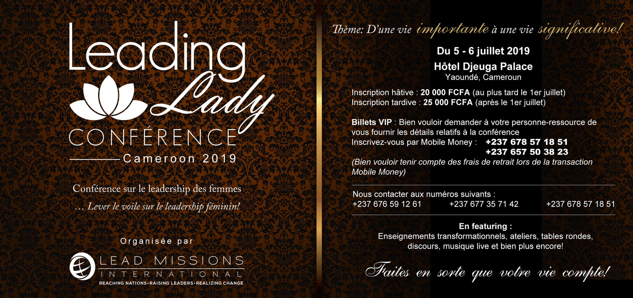 Leading LADY Conference 2019