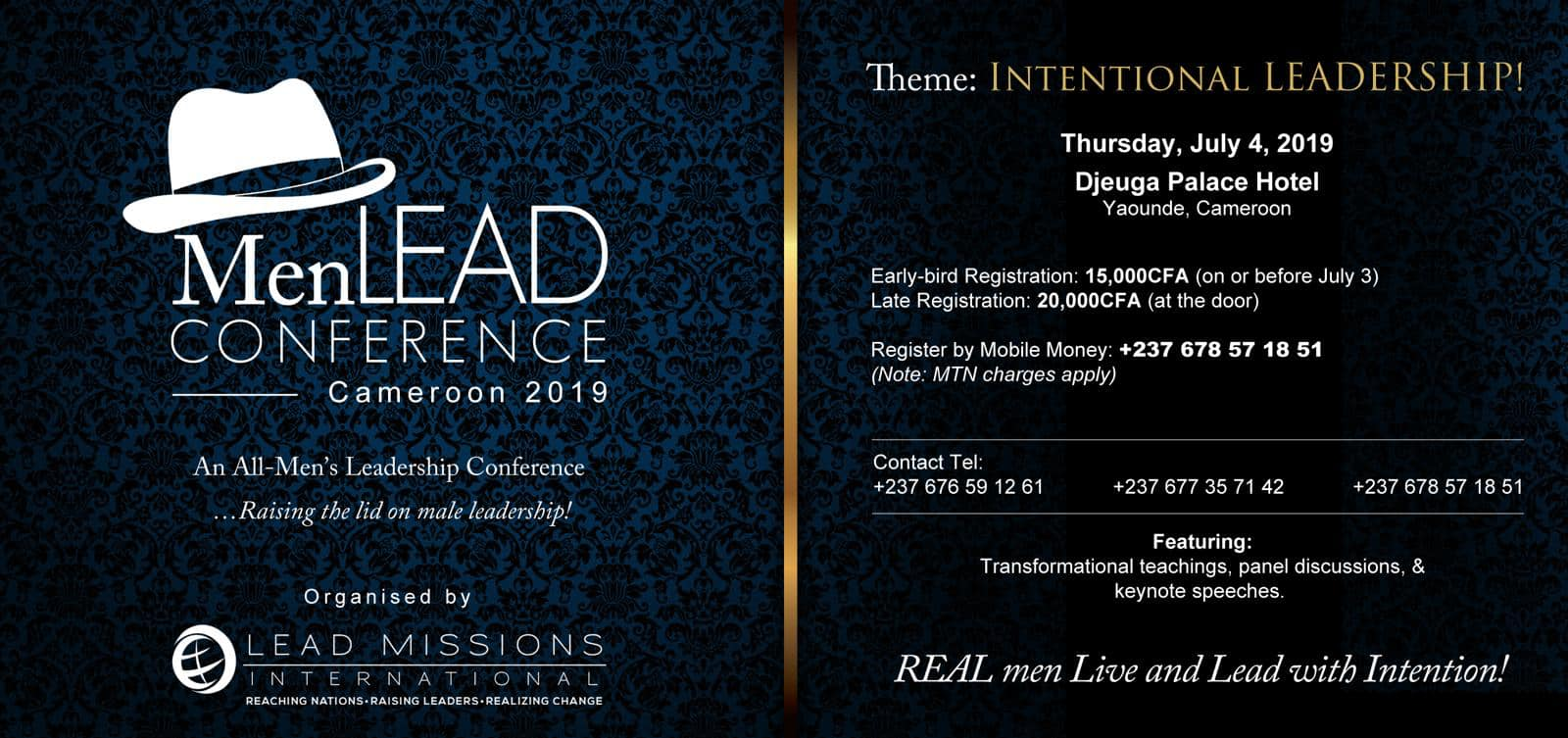 MenLEAD Conference 2019